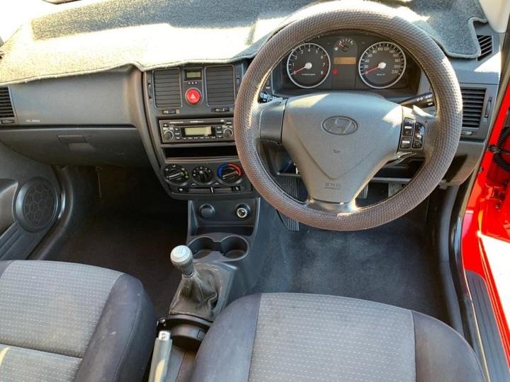 HYUNDAI GETZ  TB Hatchback 3dr Man 5sp 1.4i [MY06]