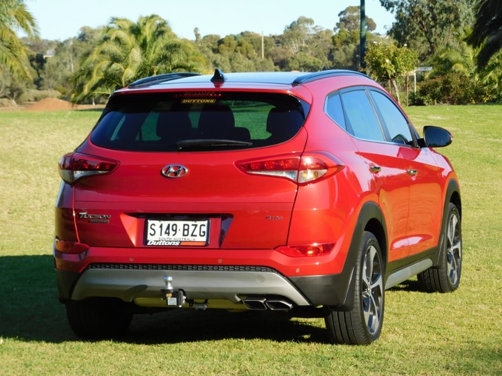 HYUNDAI TUCSON Highlander TLe Highlander Wagon 5dr D-CT 7sp AWD 1.6T [MY17]