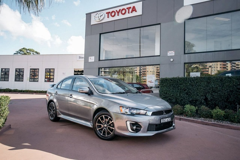 Mitsubishi Lancer Es Cf Sport Sedan 4dr Cvt 6sp 2 0i My17