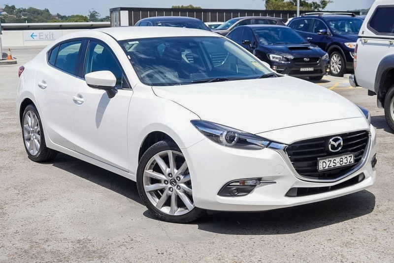 MAZDA 3 SP25 BN Series SP25 GT Sedan 4dr SKYACTIV-Drive 6sp 2.5i [Jan]