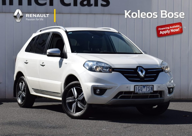 2014 Renault Koleos Bose Constantly Variable Transmission