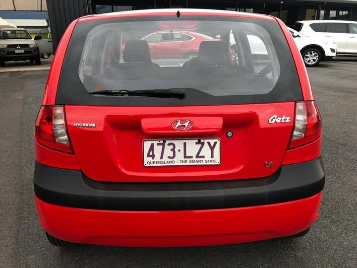 HYUNDAI GETZ SX TB SX Hatchback 3dr Man 5sp 1.6i [MY09]