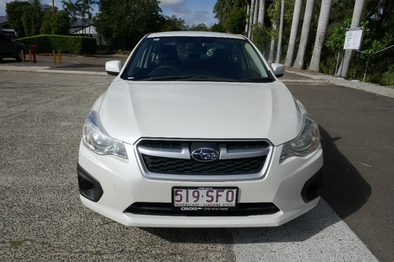 SUBARU IMPREZA 2.0i G4 2.0i. Sedan 4dr Lineartronic 6sp AWD [MY12]