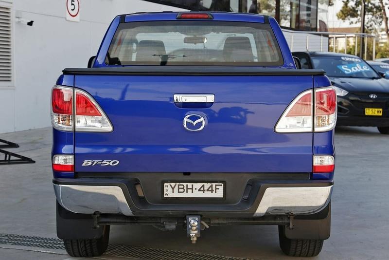MAZDA BT-50 XTR UP XTR Hi-Rider Utility Dual Cab 4dr Spts Auto 6sp 4x2 3.2DT