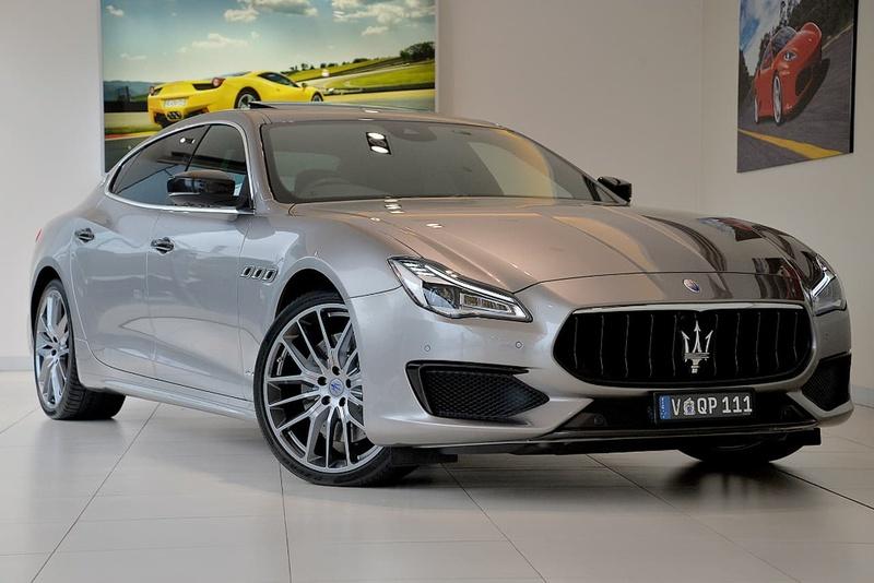 2018 Maserati Quattroporte Gts Gransport Sports Automatic