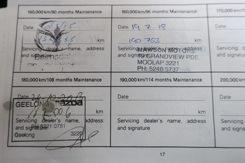 MAZDA 6 MZR-CD GY Series 2 MZR-CD Wagon 5dr Man 6sp 2.0DT