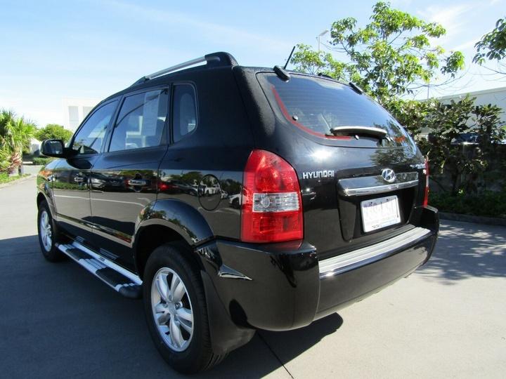 HYUNDAI TUCSON City JM City SX Wagon 5dr Spts Auto 4sp 2.0i [MY09]
