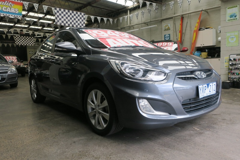 HYUNDAI ACCENT Elite RB Elite Sedan 4dr Spts Auto 4sp 1.6i [Jul]