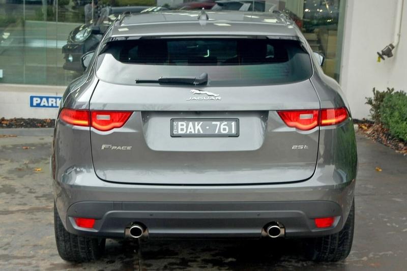 JAGUAR F-PACE 25t X761 25t R-Sport Wagon 5dr Spts Auto 8sp 2.0T [MY18]