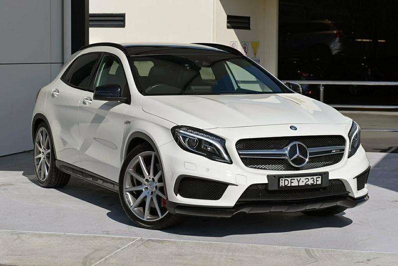 Mercedes Benz Gla45 Amg X156 Wagon 5dr Sdshift Dct 7sp 4matic 2 0t