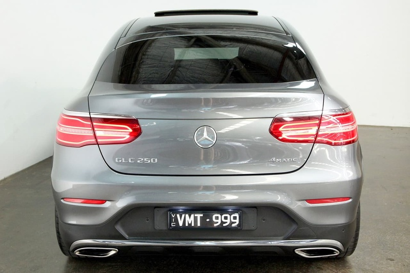MERCEDES-BENZ GLC250  C253 Coupe 5dr 9G-TRONIC 9sp 4MATIC 2.0T