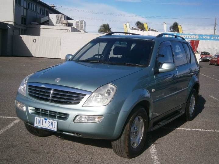 SSANGYONG REXTON Limited Y220 Limited Wagon 5dr Spts Auto 5sp 4x4 2.7DT