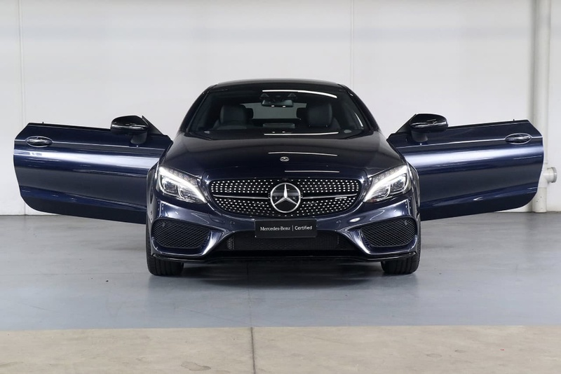 MERCEDES-BENZ C43 AMG C205 AMG Coupe 2dr 9G-TRONIC 9sp 4MATIC 3.0TT