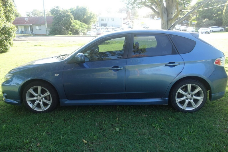 SUBARU IMPREZA RS G3 RS. Hatchback 5dr Man 5sp AWD 2.0i [MY08]
