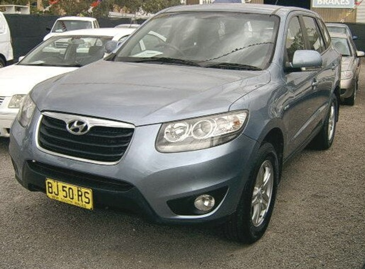 HYUNDAI SANTA FE SLX CM SLX Wagon 7st 5dr Spts Auto 6sp 4x4 2.2DT [MY11]