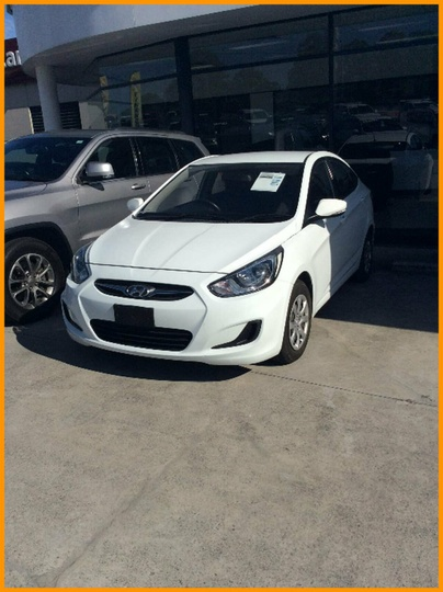 HYUNDAI ACCENT Active RB2 Active Sedan 4dr Spts Auto 4sp 1.6i [Jul]