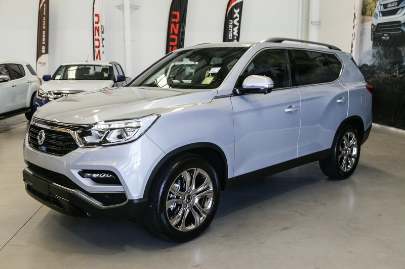 SSANGYONG REXTON Ultimate Y400 Ultimate Wagon 7st 5dr Spts Auto 7sp 4x4 2.2DT