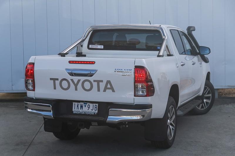 TOYOTA HILUX SR5 GUN126R SR5 Utility Double Cab 4dr Spts Auto 6sp 4x4 2.8DT