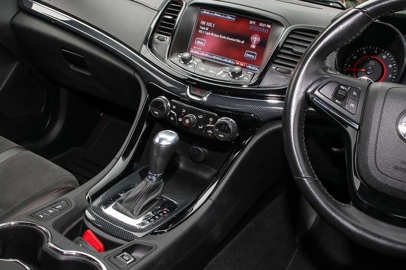 HOLDEN COMMODORE SV6 VF Series II SV6 Black Sportwagon 5dr Spts Auto 6sp 3.6i [MY16]