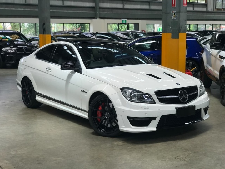 MERCEDES-BENZ C63 AMG C204 AMG Edition 507 Coupe 2dr SPEEDSHIFT MCT 7sp 6.3i [MY13]