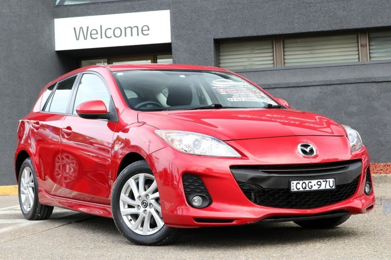MAZDA 3 Maxx BL Series 2 Maxx Sport Hatchback 5dr Activematic 5sp 2.0i [MY13]
