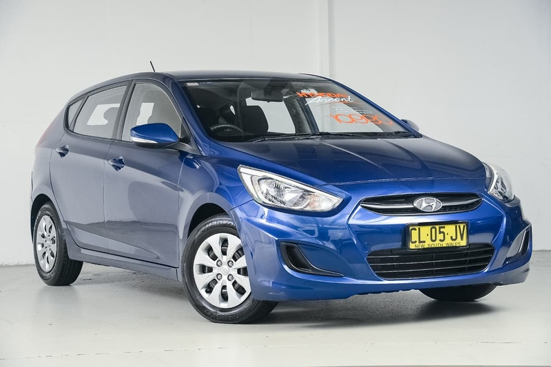 HYUNDAI ACCENT Active RB2 Active Hatchback 5dr Spts Auto 4sp 1.6i