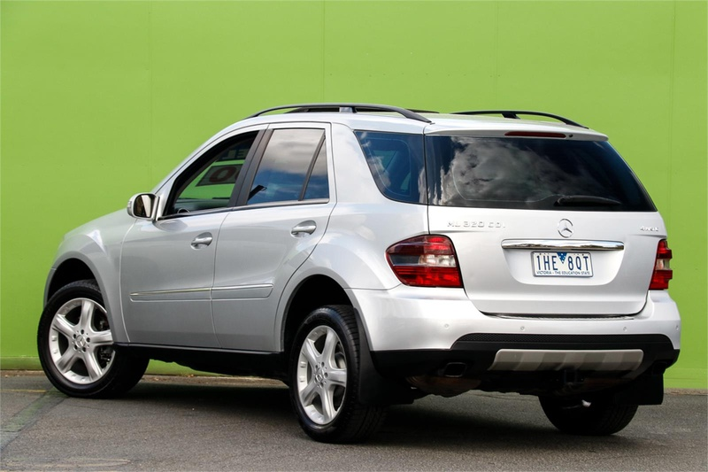 MERCEDES-BENZ ML320 CDI  W164 Wagon 5dr Spts Auto 7sp 4x4 3.0DT [MY08]