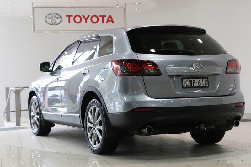 MAZDA CX-9 Luxury TB Series 5 Luxury Wagon 7st 5dr Activematic 6sp AWD 3.7i
