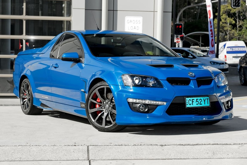 HOLDEN SPECIAL VEHICLES MALOO R8 E Series 3 R8 Utility Extended Cab 2dr Man 6sp 6.2i [MY12.5]