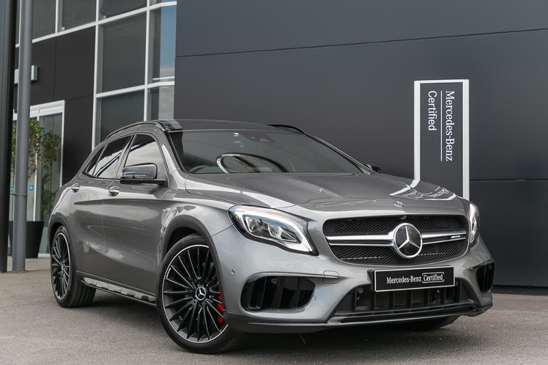 MERCEDES-BENZ GLA45 AMG X156 AMG Wagon 5dr SPEEDSHIFT DCT 7sp 4MATIC 2.0T