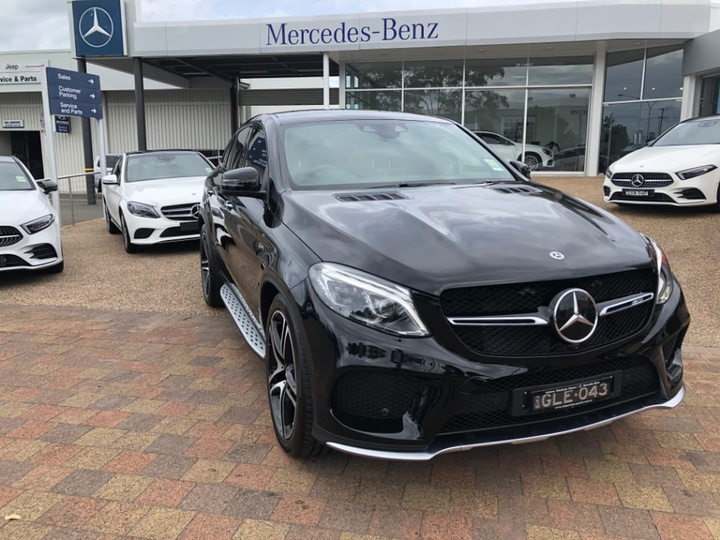 MERCEDES-BENZ GLE43 AMG C292 AMG Coupe 5dr 9G-TRONIC 9sp 4MATIC 3.0TT [Jul]