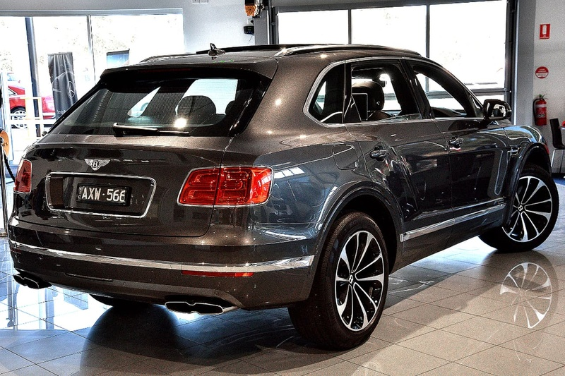 BENTLEY BENTAYGA  4V Wagon 5dr Spts Auto 8sp AWD 4.0DTT (5-st) [MY18]