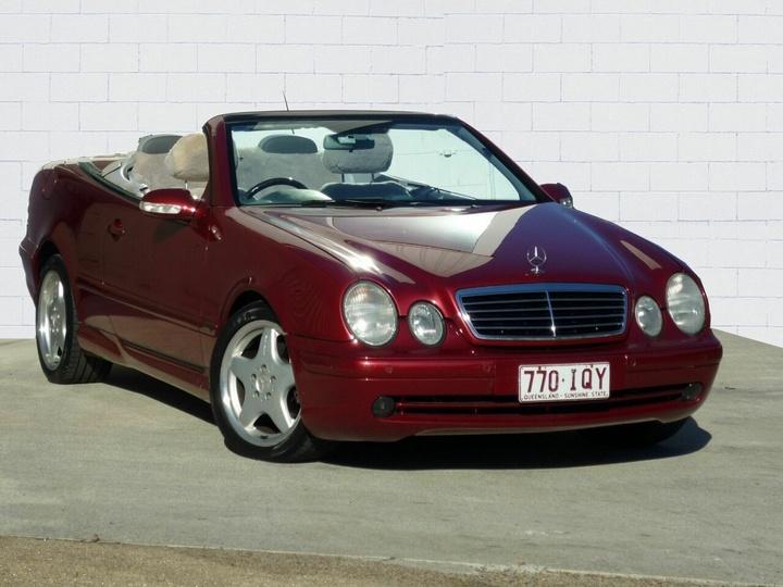 Mercedes Benz Clk430 Avantgarde A208 Cabriolet 2dr Auto 5sp 4 3i