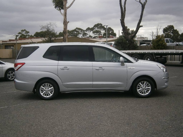 SSANGYONG STAVIC SPR A100 SPR Wagon 7st 5dr Spts Auto 5sp 2.0DT [MY13]