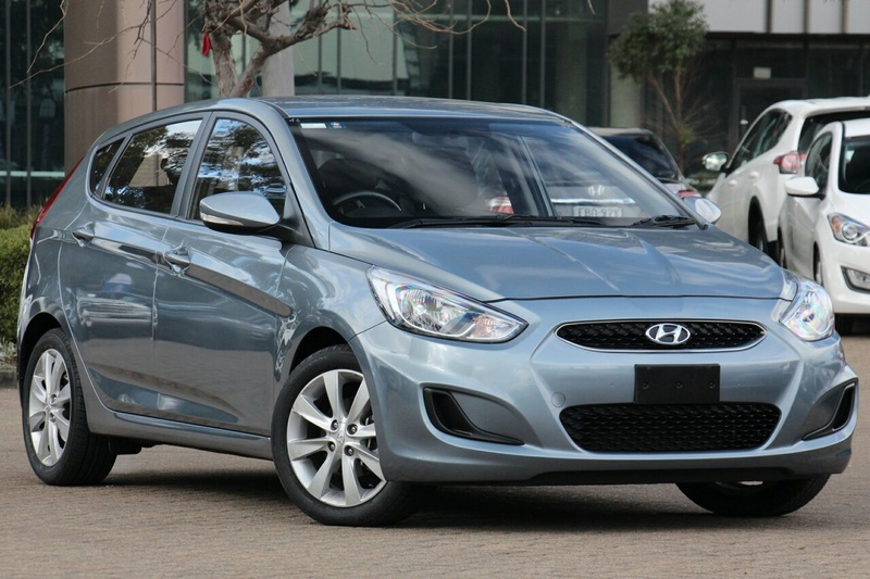 HYUNDAI ACCENT Sport RB6 Sport Sedan 4dr Spts Auto 6sp 1.6i [MY18]