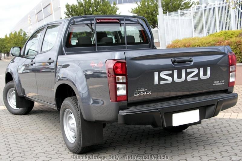 ISUZU D-MAX SX SX Utility Crew Cab 4dr Spts Auto 6sp 4x4 3.0DT [MY18]