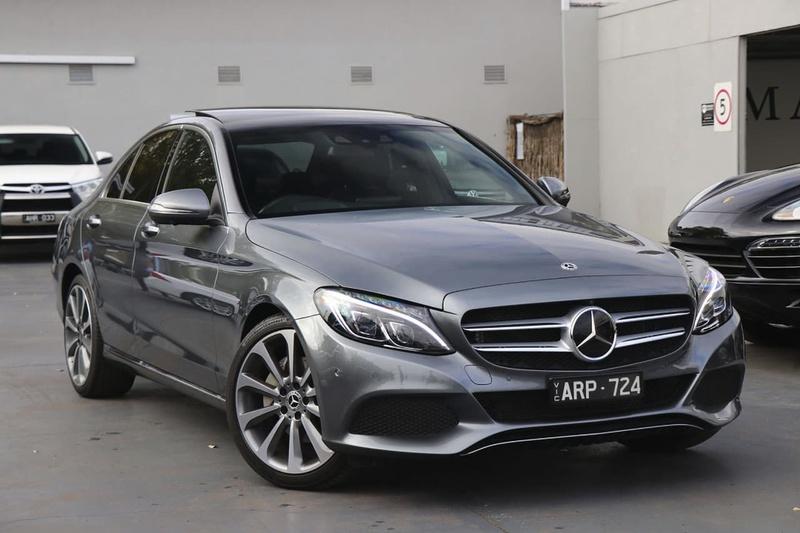 Mercedes Benz C250 W205 Sedan 4dr 9g Tronic 9sp 2 0t Jan