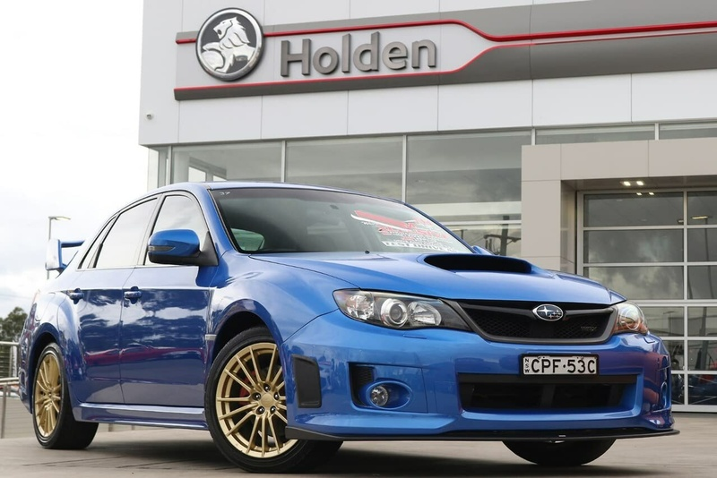 SUBARU IMPREZA WRX G3 WRX RS40. Sedan 4dr Man 5sp AWD 2.5T [MY14]