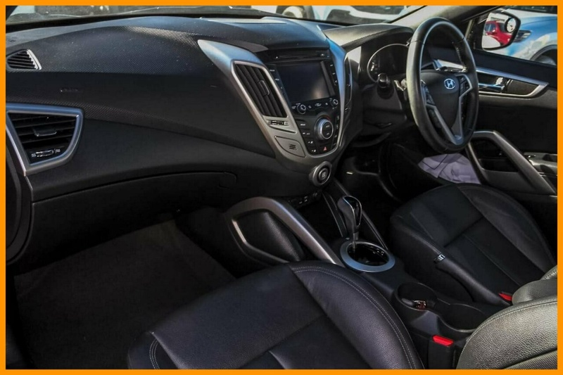 HYUNDAI VELOSTER + FS3 + Coupe 4dr D-CT 6sp 1.6i