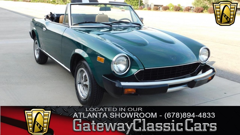 1979 fiat spider 3 speed automatic