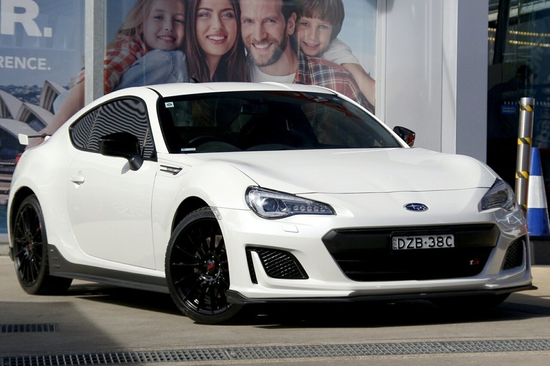 SUBARU BRZ tS Z1 tS. Coupe 2dr Man 6sp 2.0i [MY18]