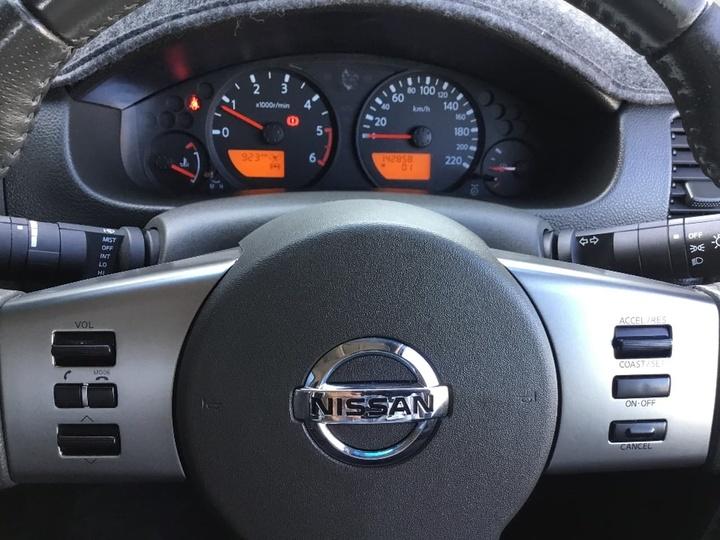 NISSAN NAVARA ST D40 ST Utility Dual Cab 4dr Man 6sp 4x4 2.5DT [MY11]