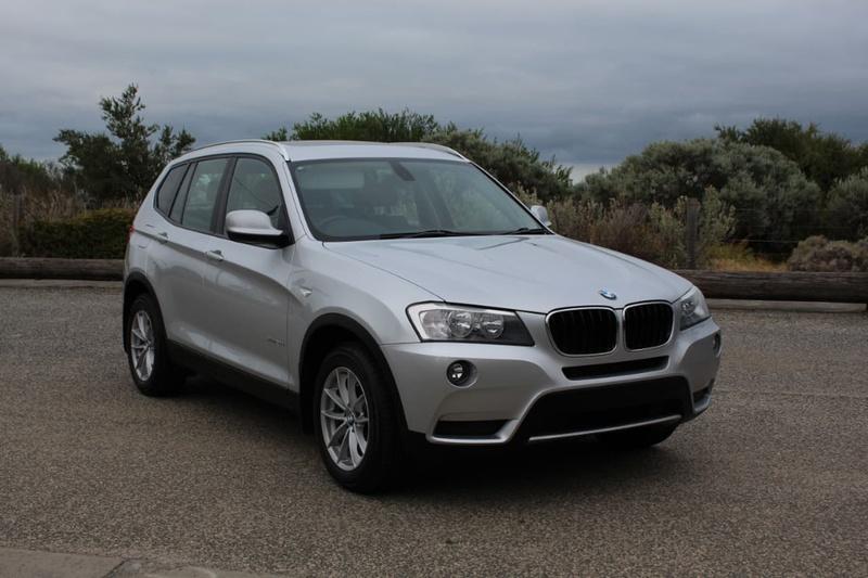BMW X3 xDrive20d F25 xDrive20d. Wagon 5dr Steptronic 8sp 4x4 2.0DT [Mar]