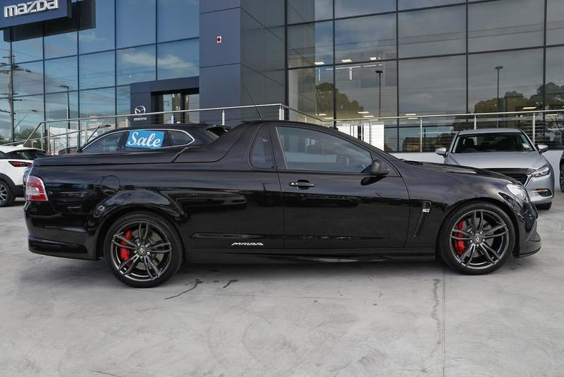 HOLDEN SPECIAL VEHICLES MALOO R8 GEN-F2 R8 LSA Utility Extended Cab 2dr Man 6sp 6.2SC [MY16]