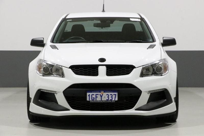 HOLDEN SPECIAL VEHICLES MALOO R8 GEN-F2 R8 SV Black Utility Extended Cab 2dr Spts Auto 6sp 6.2i [MY16]