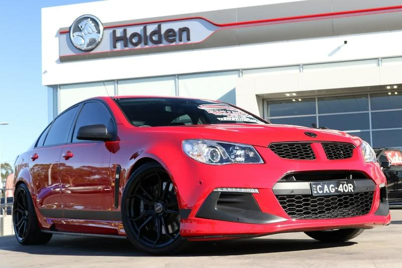 HOLDEN SPECIAL VEHICLES CLUBSPORT R8 GEN-F2 R8 SV Black Sedan 4dr Spts Auto 6sp 6.2i [MY16]
