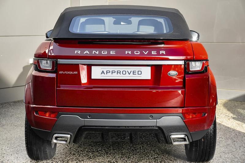 LAND ROVER RANGE ROVER EVOQUE TD4 180 L538 TD4 180 SE Dynamic Convertible 2dr Spts Auto 9sp 4x4 2.0DT [MY17]