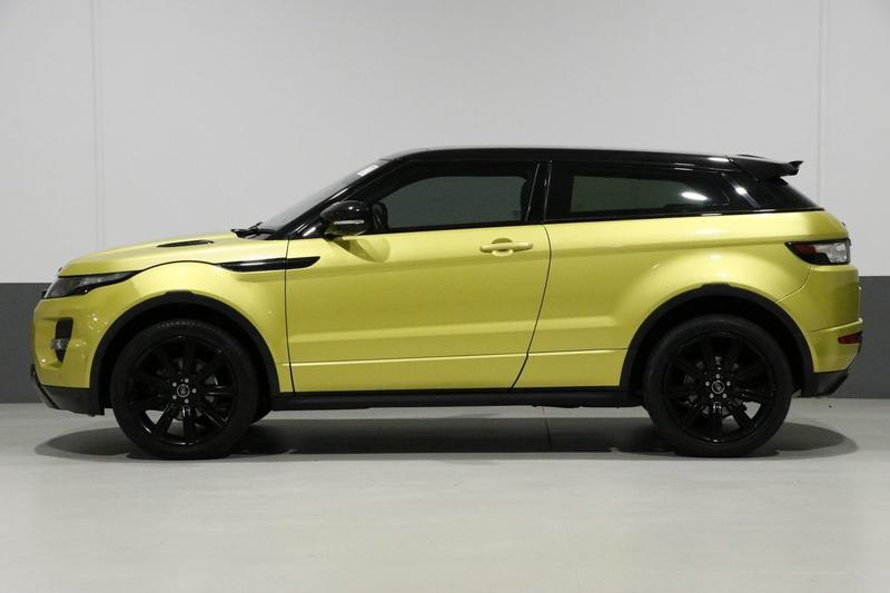 LAND ROVER RANGE ROVER EVOQUE SD4 L538 SD4 Special Edition Coupe 3dr CommandShift 6sp 4x4 2.2DT [MY13.5]