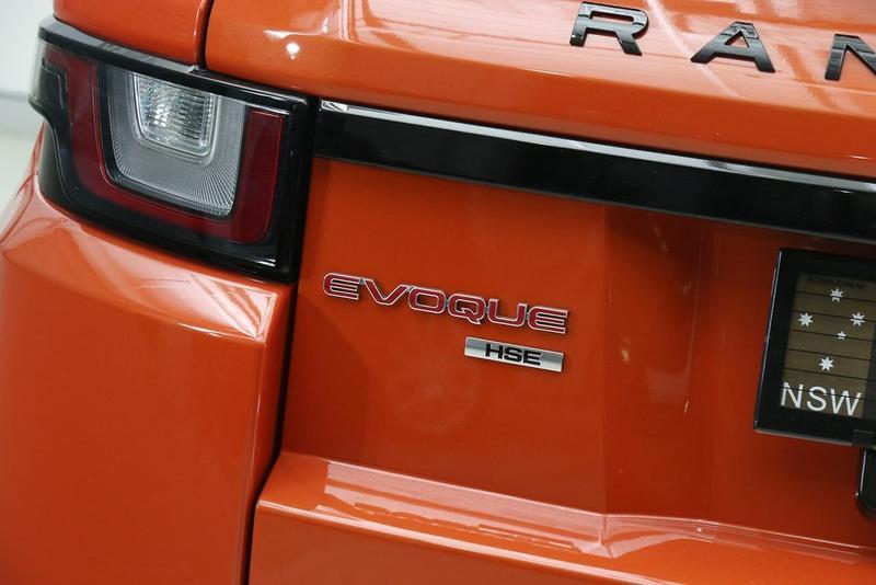 LAND ROVER RANGE ROVER EVOQUE TD4 180 L538 TD4 180 HSE Dynamic Convertible 2dr Spts Auto 9sp 4x4 2.0DT [MY17]