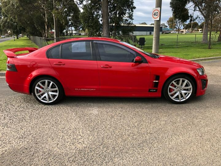 HOLDEN SPECIAL VEHICLES CLUBSPORT R8 E Series 2 R8 Sedan 4dr Spts Auto 6sp 6.2i [Sep]